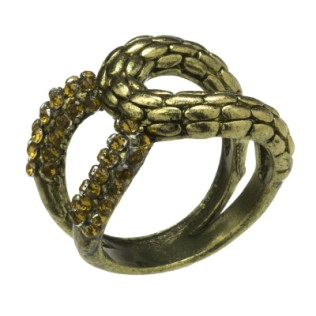 pierścionek: złota nieskończoność