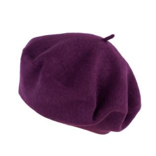 Klasyczny beret w fasonie czeskim