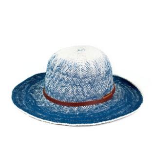 Cieniowany kapelusz plażowy
