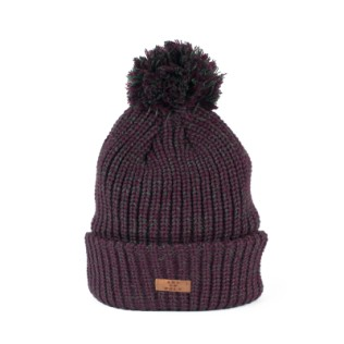 Gruba, melanżowa czapka unisex