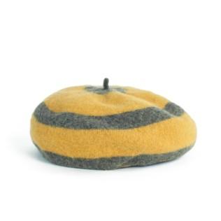 Wełniany beret Okręgi