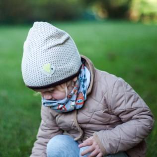 Dziecięca czapka Wróbelek