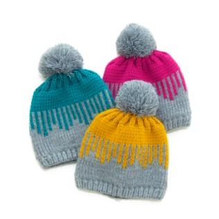 Polska czapka Kolorowe sople