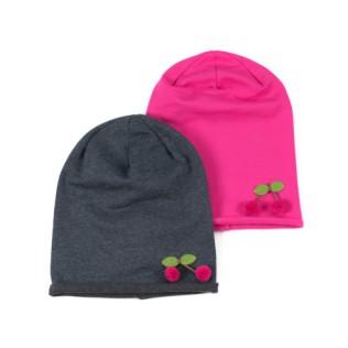 Dziecięca czapka beanie Wisienka