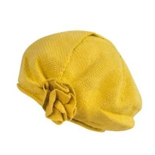 Dzianinowy beret-modny fason