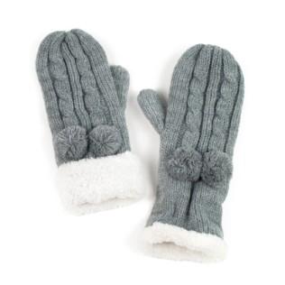 Rękawiczki Pompony i futerko
