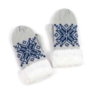 Rękawiczki jeden-palec i norweska gwiazdka