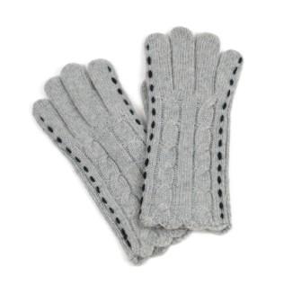 Rękawiczki przeplatanki