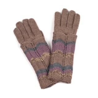 Rękawiczki w melanżach jesiennych