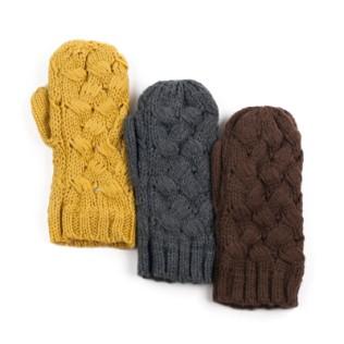 Rękawiki jednopalczaste przeplotka