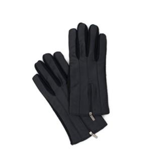 Rękawiczki skórzano-wełniane