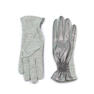 Rękawiczki wełniane ze ściągaczem