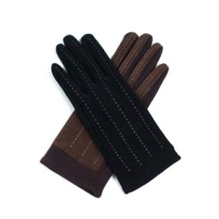Rękawiczki damskie + zamsz