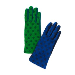 Rękawiczki Niezwykłe grochy