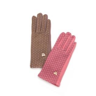 Rękawiczki młodzieżowe Stylowe kropki