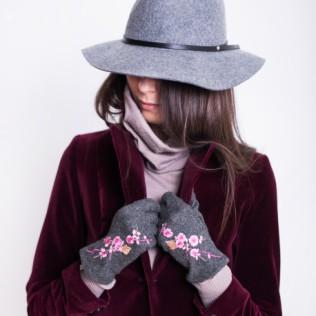 Rękawiczki Japoński haft