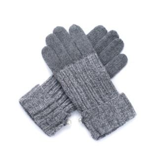 Rękawiczki Wełna z perłą