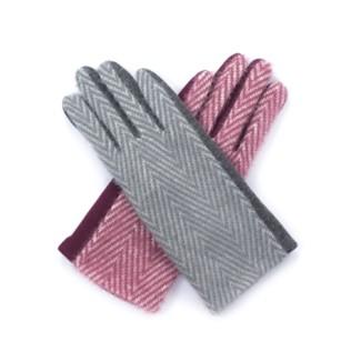 Rękawiczki Mięciutka jodełka