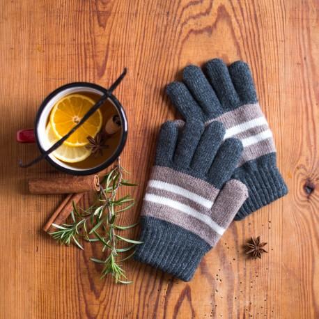 Rękawiczki dziecięce Pasiaki