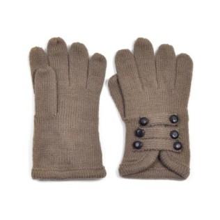 Rękawiczki i sześć guziczków