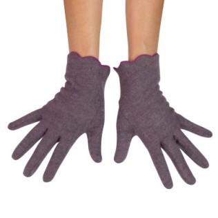 Eleganckie rękawiczki wełniane