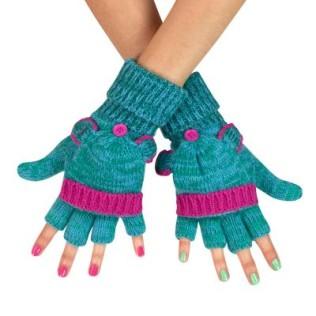 Fikuśne rękawiczki-łapki