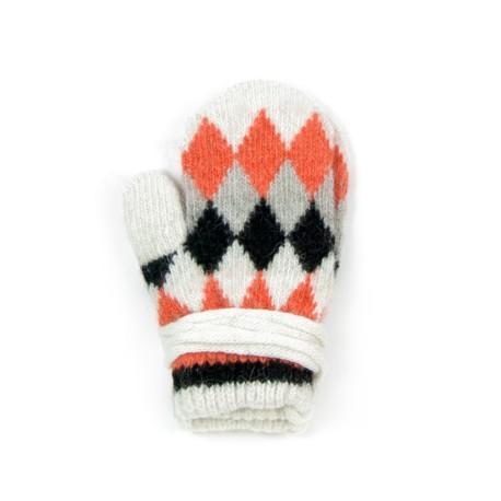 Rękawiczki dziecięce Trapezy