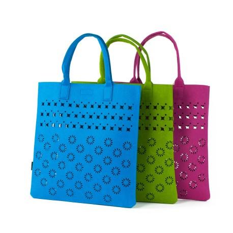 Torebka Shopper folk