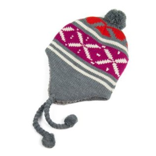 Zimowa czapka-uszatka