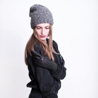 Rękawiczki skórzane Elegancki minimalizm
