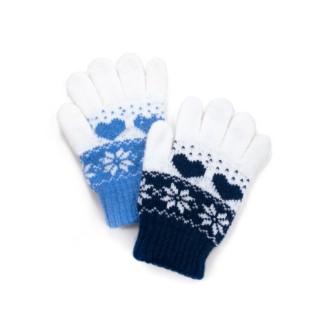 Rękawiczki dziecięce Zimowe wzorki