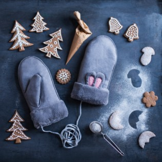 Rękawiczki Winter bunny