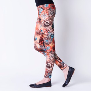 Legginsy Universe of flowers